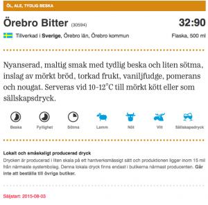 150803OrebroBitterpaSystembolaget